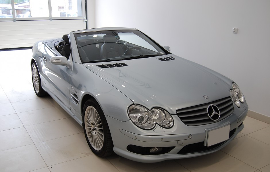 Mercedes benz sl 55 amg v8 kompressor classic sports cars for Mercedes benz v8 kompressor
