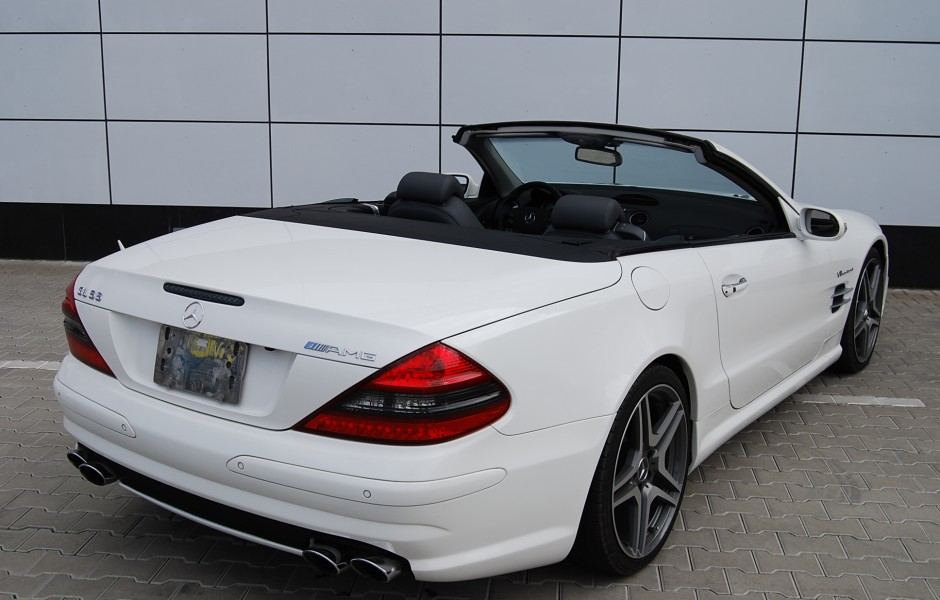 mercedes benz sl 55 amg performance classic sports cars. Black Bedroom Furniture Sets. Home Design Ideas